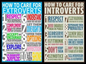 extroverts, introverts, humanality, personal development, coaching, London